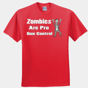 Zombies are pro gun control