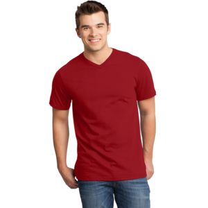 Adult Soft Cotton V-Neck Thumbnail