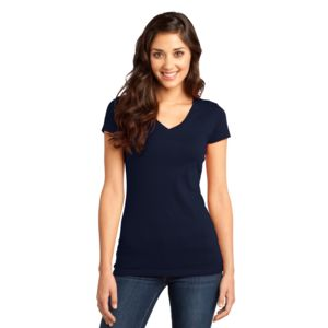 Juniors Soft Cotton V-Neck Thumbnail
