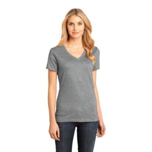 Ladies Soft Cotton V-Neck  Thumbnail