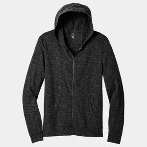 District Unisex Medal Full-Zip Hoodie Thumbnail