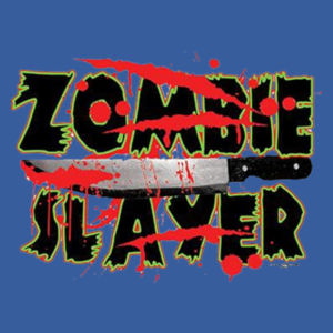 Zombie Slayer - Adult Fan Favorite Hooded Sweatshirt Design