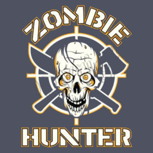 Zombie Hunter - Adult Premium Blend T Design