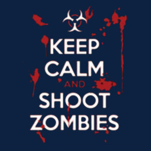 Keep Calm and Shoot - Adult Fan Favorite T Design