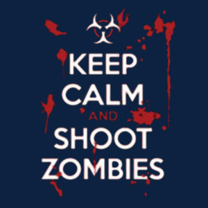 Keep Calm and Shoot - Youth Fan Favorite T Design
