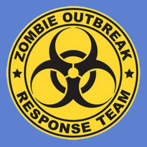 Zombie Response Team - Adult Premium Blend T Design