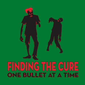 Finding The Cure - Adult Fan Favorite T Design