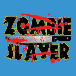 Zombie Slayer - Adult Premium Blend T Design