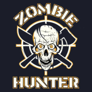 Zombie Hunter - Adult Fan Favorite T Design