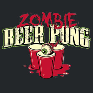 Zombie Beer Pong - Youth Fan Favorite T Design