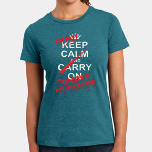 Keep Calm - Ladies Perfect Blend T Thumbnail