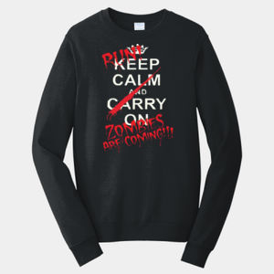 Keep Calm - Adult Fan Favorite Crew Sweatshirt Thumbnail