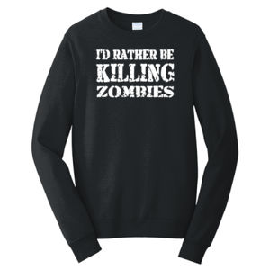 I'd Rather Be - Adult Fan Favorite Crew Sweatshirt Thumbnail