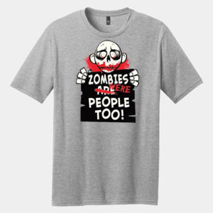 Zombies Were People - Adult Premium Blend T Thumbnail