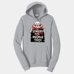 Zombies Were People - Adult Fan Favorite Hooded Sweatshirt Thumbnail