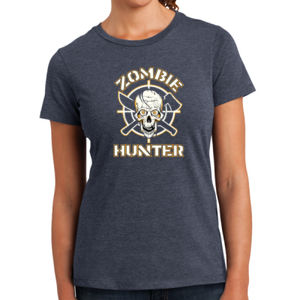 Zombie Hunter - Ladies Perfect Blend T Thumbnail