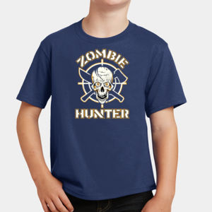 Zombie Hunter - Youth Fan Favorite T Thumbnail