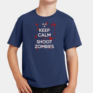 Keep Calm and Shoot - Youth Fan Favorite T Thumbnail