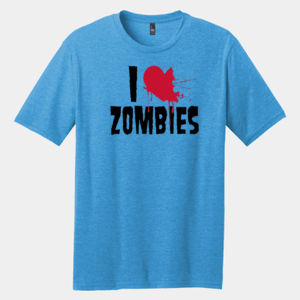 I Love Zombies - Adult Premium Blend T Thumbnail