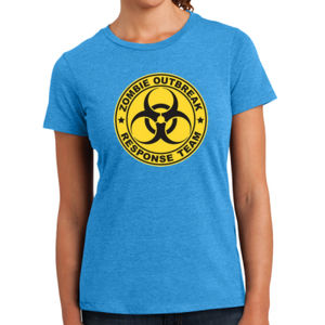 Zombie Response Team - Ladies Perfect Blend T Thumbnail