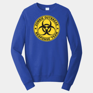 Zombie Response Team - Adult Fan Favorite Crew Sweatshirt Thumbnail