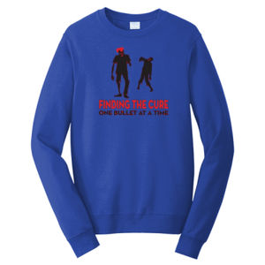 Finding The Cure - Adult Fan Favorite Crew Sweatshirt Thumbnail