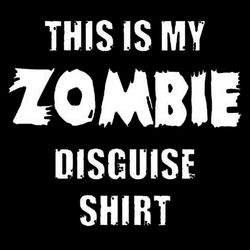 Zombie Disguise Shirt Thumbnail