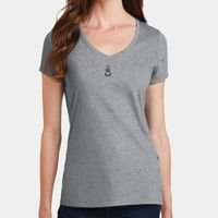 Ladies V-Neck T Thumbnail